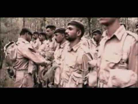 Pak Army Official Theme Song ragoon Main Jitna Khoon Hai video