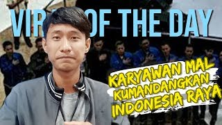 VIRAL OF THE DAY: Mal di Depok Rutin Kumandangkan Lagu Kebangsaan Indonesia Raya Sebelum Buka