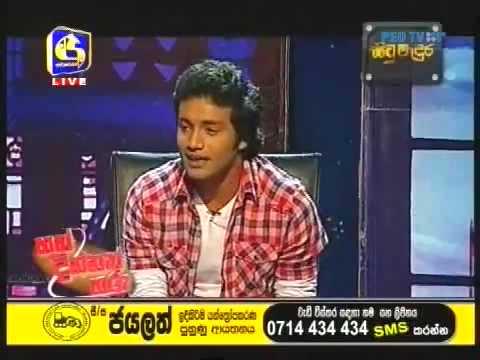 sri lanka actor singer CHANAKA MADUSAN DAYARATHNA