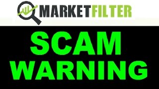 Market Filter Review - Guaranteed SCAM Software! (ALERT)