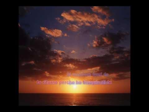 E RITORNO DA TE WITH LYRICS ~Laura Pausini