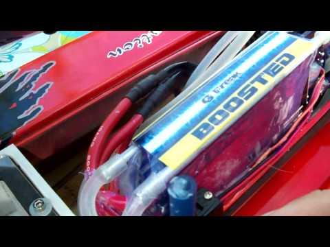 75 Mph Brushless Drag Race F1 Champboat Formula 1 Hv 10s