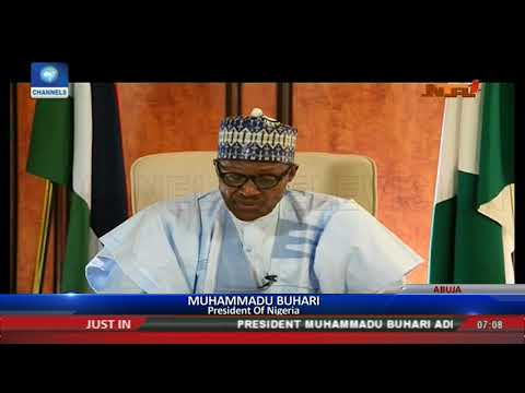 Nigerians Have Started Applauding Our Policies,Determination To Fight Corruption-- Buhari
