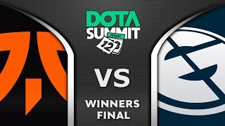 Fnatic vs EG Winners Final Dota Summit 12 2020 Highlights Dota 2