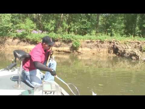 Mt sterling ohio 39 s deer creek lake white bass youtube for Deer creek fishing