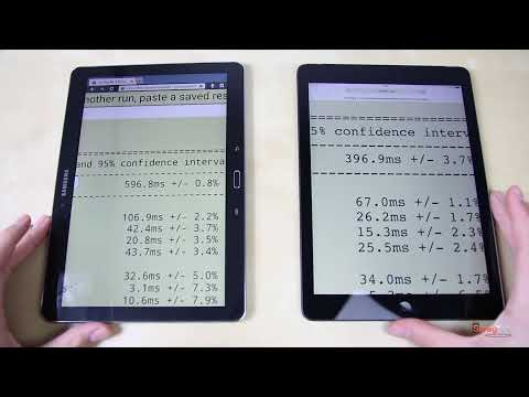 Samsung Galaxy Note 10.1 2014 vs. Apple iPad Air: Benchmark | SwagTab