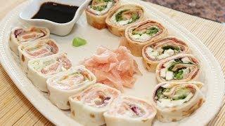 """Jak zrobić """"sushi"""" po włosku i meksykańsku :)"""