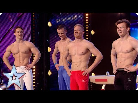 4G have some serious six packs | Britain's Got More Talent 2016 | britain's got talent