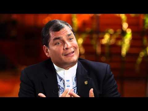 Entrevista de Ana Pastor a Rafael Correa