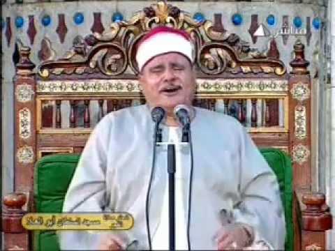 الشيخ السيد متولى سورة الرحمن 17.08.2012 Sayed Mutawalli video