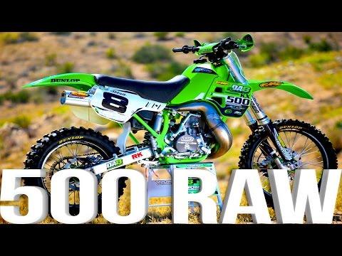Kawasaki KX500 2 Stroke RAW featuring Destry Abbott - Dirt Bike Magazine