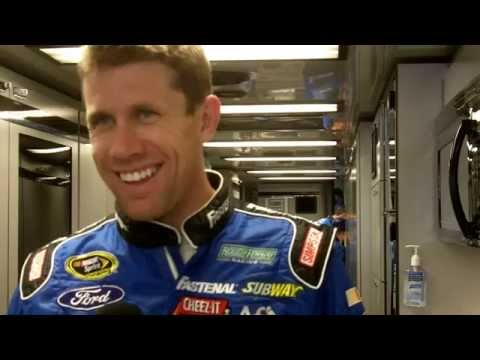 Interview Carl Edwards - Miami 2014