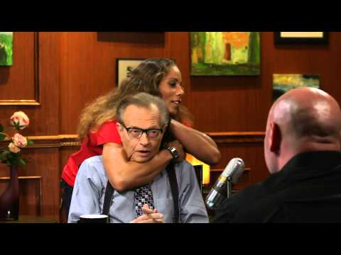 UFC Fighter Liz Carmouche Gives Larry a Rear Naked Choke | Larry King Now | Ora TV
