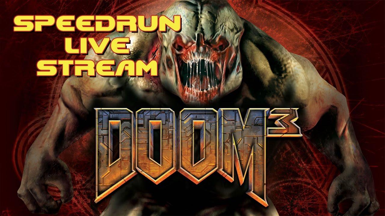 Doom 3 - SpeedRun - БЫСТРОЕ ПРОХОЖДЕНИЕ ТРЕТЬЕЙ ЧАСТИ! (LIVE)