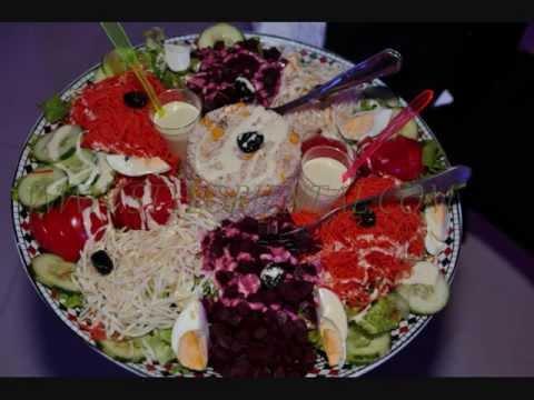 Mariage oriental algerien kabyle entrees youtube - Presentation buffet froid deco ...