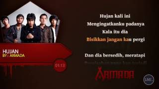 Armada - Hujan ~ Lirik