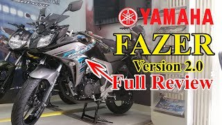 Yamaha Fazer Fi V2.0 🔥Features 🔥Price in bd || Mileage🔥Colours