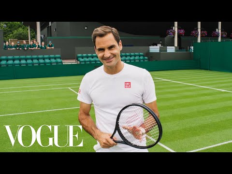 73 Questions With Roger Federer | Vogue