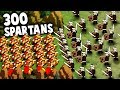 300 SPARTANS! NEW Battle Simulator Game!  (Thermopylae 300 Spartans in Hyper Knights: Battles) MP3