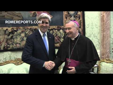 U.S Secretary John Kerry thinks Pope can intervene in Middle East peace process