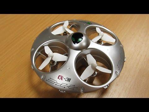 Ко мне залетело НЛО! Cheerson CX-31 UFO drone! квадрокоптер обзор