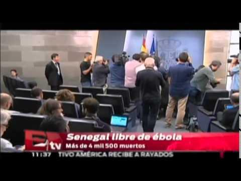 Senegal libre de ébola / Excélsior en la media