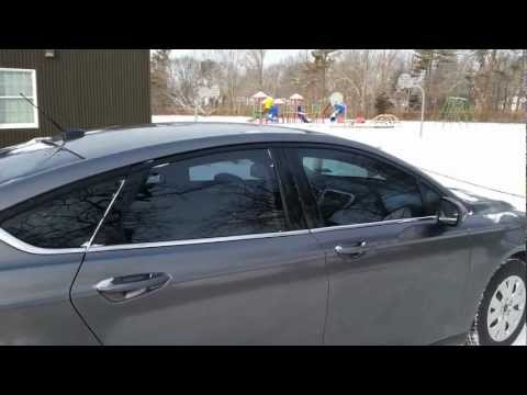 New 40% window tint on 2013 ford fusion