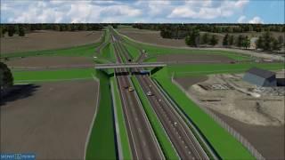 Kernu ümbersõidu 3D animatsioon