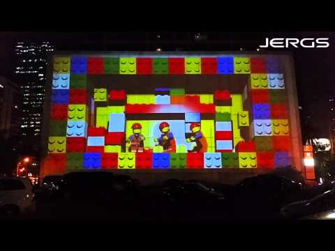 Most Awesome 3D Projection mapping