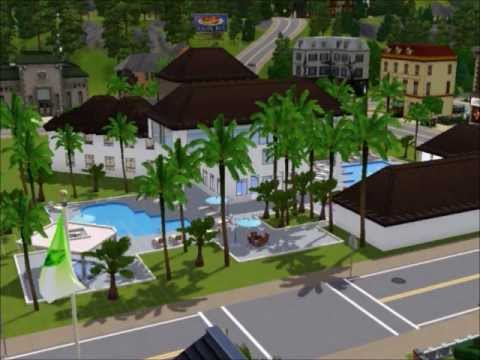 Sims 3 building a resort