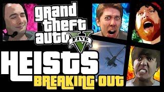 GTA 5 Online Heists - Breaking Out! [PS4]