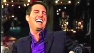 Tom Cruise Farting on Letterman