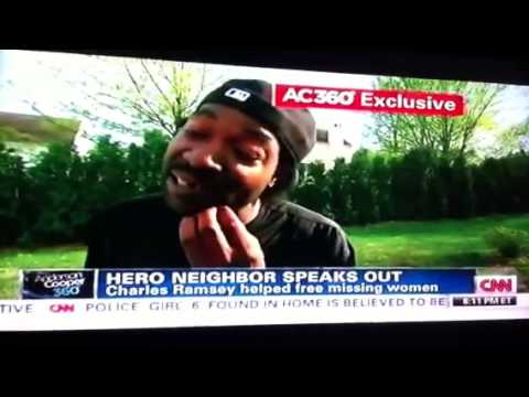 Charles Ramsey Interview on Anderson Cooper