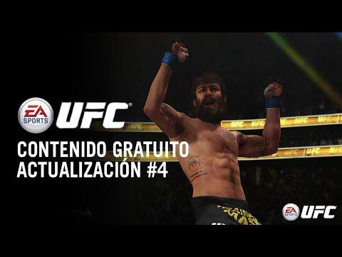 EA SPORTS UFC - Contenido gratuito - Cuarta Actualización