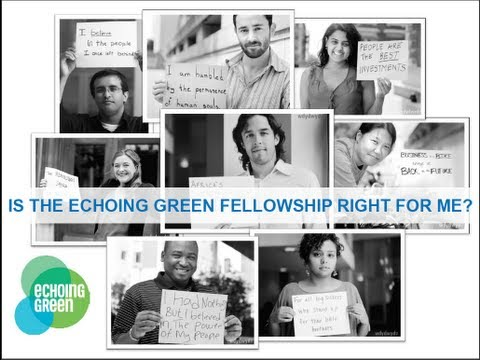 Echoing Green 2012 Fellowship Info Webinar