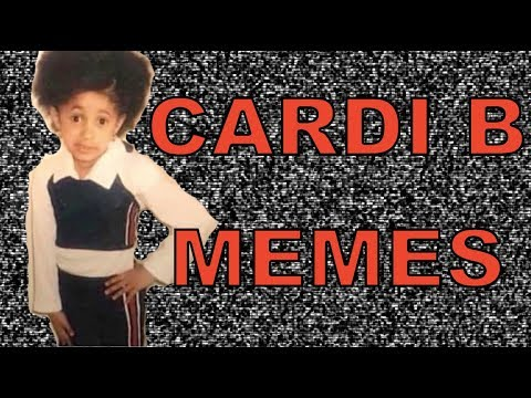 5 Year Old Cardi B Memes Compilation