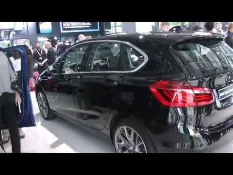 BMW serie 2 cabriolet e active tourer. Salone di Parigi 2014. HDmotori.it