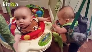 Kizoa Movie - Video - Slideshow Maker: Funny cute twin baby compilation