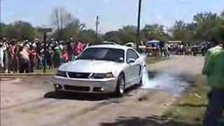 Mustang Burnout Smokin