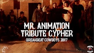 Cypher w hołdzie Mr. Animation na Breakbeat Cowboys 2017!