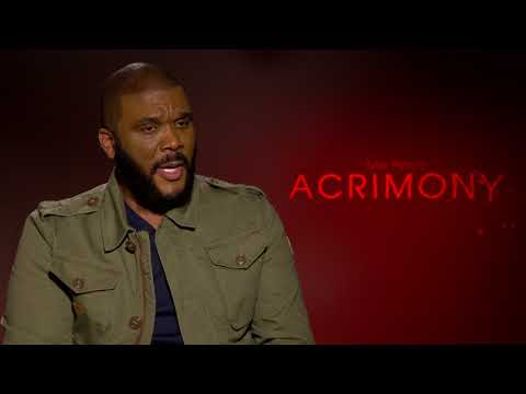 Acrimony: Tyler Perry Official Movie Interview