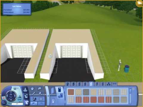 Building Garages Sims 3