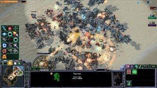 Starcraft 2 - Arcade - DirectStrike - 3vs3 - Terran - #99