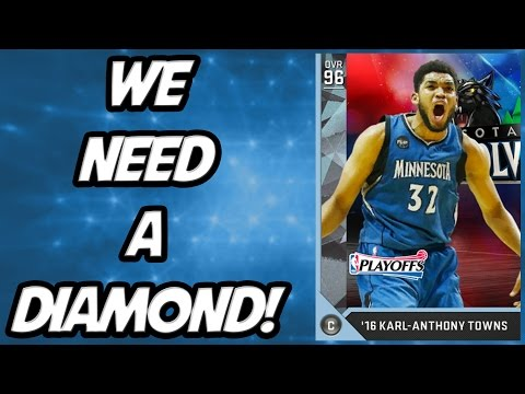 NBA 2K16 MyTeam - We need a Diamond! - Playoff Moments Pack Opening