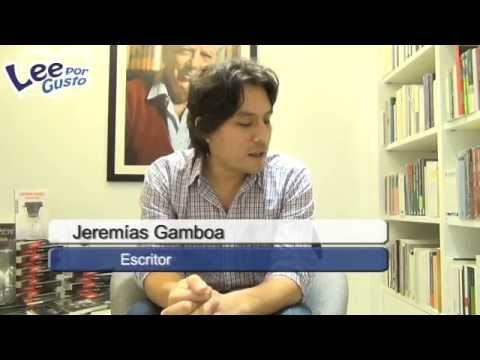 Los cinco libros favoritos de Jeremías Gamboa
