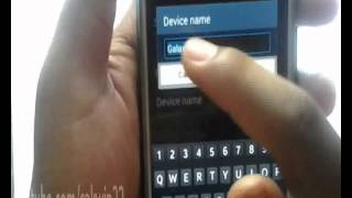How to Change Bluetooth Name on Samsung Galaxy S4  Android 4 4 K