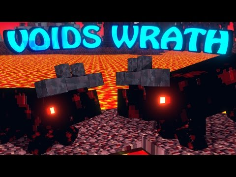 Minecraft Voids Wrath Modded Survival Ep 7 NETHER DUNGEONS