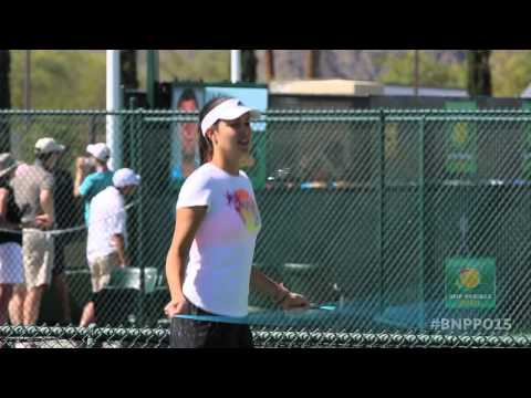 2015 BNP Paribas Open: Rocking the Practice Courts