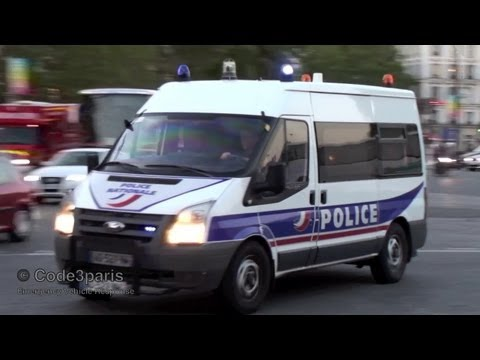 Véhicules de la Police nationale (collection) // Paris Police Cars and Vans