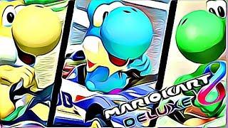 YOSHI'S ARE EVERYWHERE (Mario Kart 8 Deluxe Online)